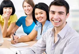 Tuition - smiling students