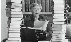 Agatha Christie dyslexic writing in english