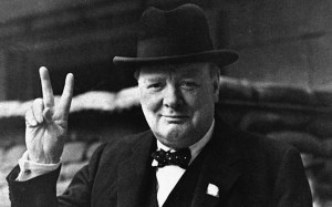 Winston Churchill dyslexic who wrote books and led a nation