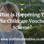 What is the new childcare voucher scheme?
