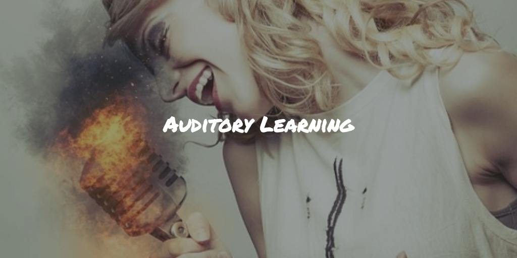 Auditory learning using sound