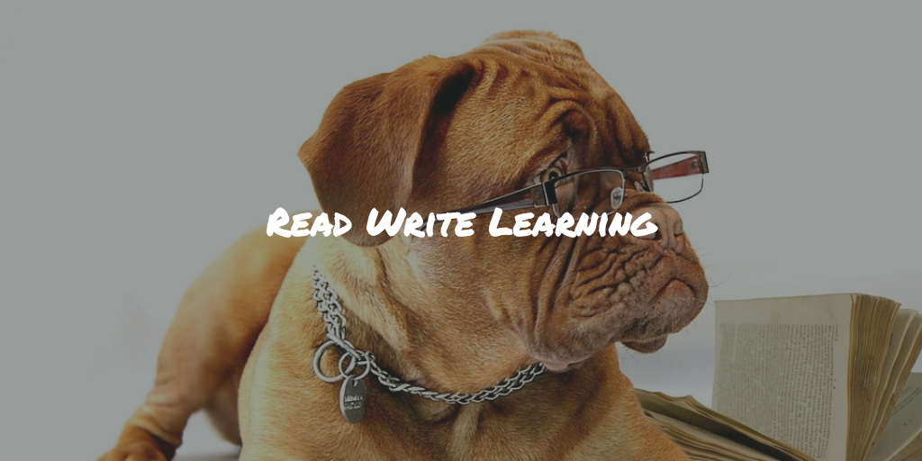 Reading and writing learning techniques and advantages