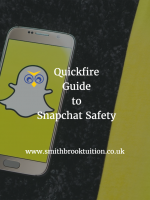 Snapchat safety Cranleigh and Godalming =