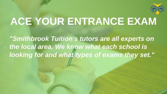 Entrance exam preparation Godalming and Cranleigh